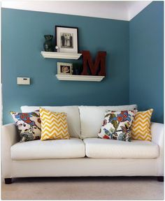 A Delightful Design: before and after: living room reveal