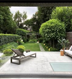 Photo Credit House Curious is part of Small backyard garden design - Small Garden Landscape, Small Backyard Gardens, Small Backyard Landscaping, Garden Spaces, Back Gardens, Small Gardens, Outdoor Gardens, Backyard Patio, Backyard Ideas