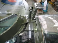 This is the early style rear view mirror which was a usual view with Mk. V airframes. This mirror could also be seen on many Mk. IXs before the improved and more aerodynamic rounded type became the production standard for this mark. Ww2 Aircraft, Fighter Aircraft, Military Aircraft, Kit Planes, Military Flights, Aircraft Interiors, Interior Design Colleges, The Spitfires, P51 Mustang