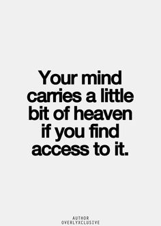 A little bit of heaven #quote