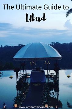 Exploring Ubud, Indonesia is tons of fun. Check out this Ubud guide to help you see all the main attractions while you're in the area. This guide includes where to eat in Ubud, transportation in Ubud, things to see and do in Ubud, volcano hikes in Ubud, and much more. You'll definitely want to check this guide to Ubud before your next trip and save it to your travel board to help you plan your trip.