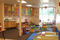Daycare infant room | Here are some photos of the variousrooms at Sunny Day Care.