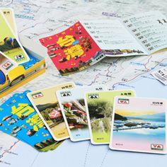 台灣風光撲克牌,將全台「北」、「中」、「南」、「東」加上離島的52個人氣必遊景點一次打包,還附有各景點攻略秘笈、伴手禮推薦以及台灣紀念貼紙,通通都收到這卡行李箱!資訊、遊戲雙重用途,讓你一卡在手,歡樂無窮!  Taiwan Scenery Playing Cards is an all-in-one package of 52 popular must-visit attractions of Taipei, Taichung, Tainan, and Taitung, plus the outlying islands. It also contains travel tips for each attraction, souvenir recommendations, and Taiwan commemorative stickers, all in one suitcase!It's a tour guide as well as a card game, bringing endless joy to ...