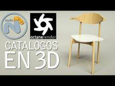 Os muestro el proceso completo de creación de imágen para un catálogo. Todo en 3D.