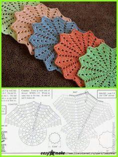 Hobby: Damskie pasje i hobby. Odkryj i pokaż innym Twoje hobby. Magic Crochet Nº 90 - claudia - Picasa Web Albums This Pin was discovered by Nat How to conn Crochet Placemats, Crochet Potholders, Crochet Doily Patterns, Crochet Mandala, Crochet Designs, Crochet Doilies, Crochet Flowers, Crochet Stars, Crochet Round