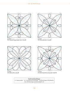 PDF downloads for half-square triangle templates. Paper