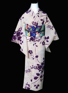 JPY21,000 kimono bush clover