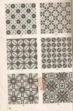 Estonian patterns - That's It Fair Isle Knitting Patterns, Knitting Charts, Knitting Stitches, Knitting Designs, Knit Patterns, Cross Stitch Patterns, Filet Crochet, Crochet Chart, Mittens Pattern