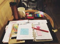 workplace inspiration study aesthetic workspace