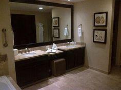 Bathroom Vanities Two Sinks double sink vanity - google search like the large sinks molded