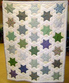 patchworktæppe med sekskantet - Google-søgning
