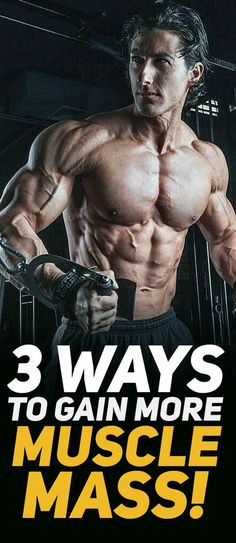 Muscle Building Tips. Gain More Mass With These Weight Training Tips! It can be fun to lift weights if you do it safely and correctly. You can enjoy yourself and see the progress of an effective workout routine. Bodybuilding Workouts, Bodybuilding Motivation, Female Bodybuilding, Workout Essentials, Muscle Building Workouts, Pitta, Muscle Fitness, Men's Fitness, Muscle Mass