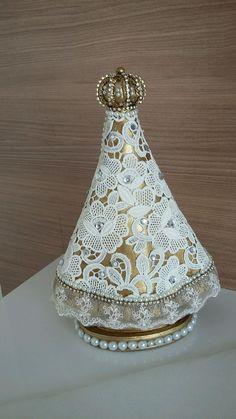 Imagem nossa Senhora Aparecida, um presente sem igual, não há quem não se encante, com certeza trará mts bênçãos.