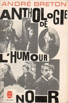 Front cover of Anthologie de L'Humour Noir, by André Breton, (1940) 1966 reissue