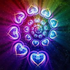 Live in your heart and love always flows through you.