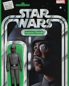Jeez Yet Another Star Wars @johntylerchris Star Wars Action Figure Cover I Don't Think I Knew About 'Inspector Thanoth.' Can be ordered at Midtown Comics or most good Comic shops globally.  #starwars #johntylerchristopher #vintage #toys #comics #art #DarthVader #InspectorThanoth #twitter #FLYGUY #FLYGUYtoys #googleplus