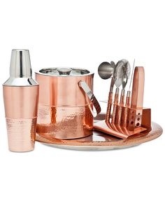 Beautiful Copper Bar tool Set