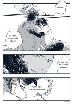 Japanese Malec comic part 3 ... alexander 'alec' lightwood, magnus bane, the mortal instruments