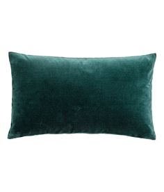 Check this out! Cushion cover in cotton velvet with a concealed zip. - Visit hm.com to see more.