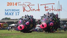 The Trinity River Wind Festival is an event in Dallas to celebrate the beauty and spirit of the wide open spaces along the Trinity River; it's the most unique festival in the Southwest.