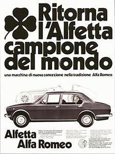 Alfa Romeo Alfetta.