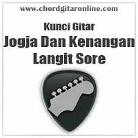 Chord Gitar Online Chord Langit Sore Jogja Dan Kenangan Di 2020