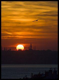 Sunset Istanbul - Turkey
