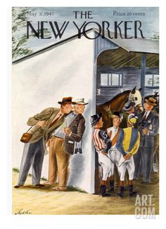 The New Yorker Cover - May 31, 1947 Regular Giclee Print by Constantin Alajalov at Art.com