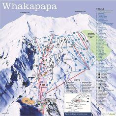 Whakapapa, North Island, New Zealand