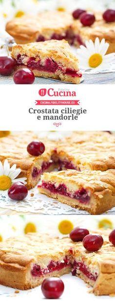 Sweets Recipes, Fruit Recipes, Cake Recipes, Cooking Recipes, Italian Desserts, Italian Recipes, Jam Tarts, Torte Cake, Bakery Cakes