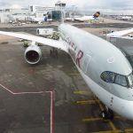 Qatar Airways Airbus A350 Tipi Uçağını Londra'da Sergiliyor