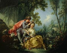 OIL PAINTING REPRODUCTIONS PAINTED FOR YOU. We paint your art for you in oil paint on canvas. It takes several weeks to paint & about 2 weeks to mail it to you. The time frame also depends on customs in both China & your country. Example shown: Francois Boucher (Young lovers shepherdess in spring) ~ zhongguozhuli (eBay)