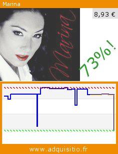 Marina (CD). Réduction de 73%! Prix actuel 8,93 €, l'ancien prix était de 32,55 €. http://www.adquisitio.fr/universal-music-spain-sl/marina