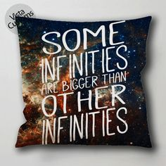 The Fault in Our Stars quotes gg pillow case, cushion cover ( 1 or 2 Side Print With Size 16, 18, 20, 26, 30, 36 inch )