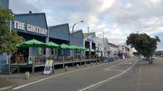 Napier waterfront area