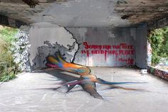 Anamorphic Graffiti - TSF Crew • Urban Art Core