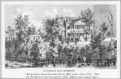Daytonian in Manhattan: The Lost 1760 Richmond Hill Mansion -- Charlton and Varick Streets