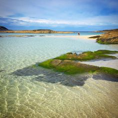 Sanna Bay waters in Ardnamurchan, Scotland