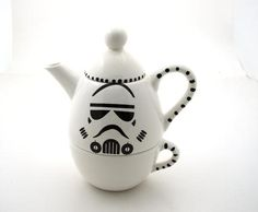 Stormtrooper tea pot.