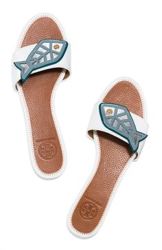 Tory Burch Minnow Flat Slide