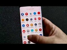 How to switch Launcher and Icons on the Samsung Galaxy S8 / S8+ - YouTube