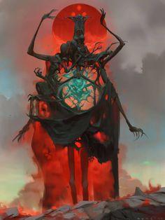 Alex Konstad - 'Locked in dreamless slumber, the jade spirit holds...
