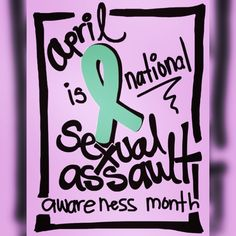 April is National #Sexual #Assault #Awareness Month #SAAM  Believe and #support #survivors  #useyourvoice #changetheculture  www.justiceforrae.com