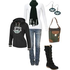 NY Jets, created by lwilkinson on Polyvore