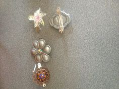 Easy Barrett's made from old broaches & costume jewelry!