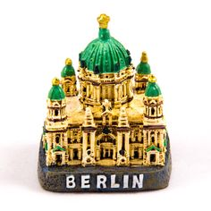 Collectible Miniature House: Germany. Berlin. Berlin Cathedral (Berliner Dom)