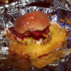 The Cheese Please at Burger Stomper in Toronto