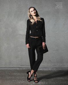 Karen Walker, Magazine, Amp, Chic, Rings, Instagram Posts, Jackets, Style, Fashion