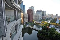 Tokio, view from the Palace Hotel Palace Hotel, Japanese Beauty, Founded In, Japan Travel, Tokyo, River, Park, City, Outdoor