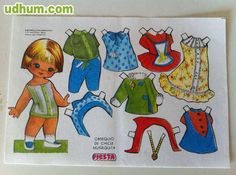 10 RECORTABLES OBSEQUIO DE CHICLE FIESTA Origami, Paper Dolls, Disney Characters, Fictional Characters, Childhood, Family Guy, Stamp, Nostalgia, Craft